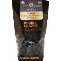 bag of candied orange coated with chocolate 130g